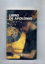 Patrizia Caraffi # LIBRO DE APOLONIO # Pratiche Editrice 1991