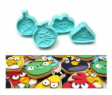 Angry Birds Plunger Cookie Cutter 4 pc Set