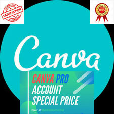 Canva pro subscription 1 year - custom login - Promotion For All