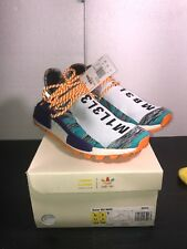 d629dbdd81879 ADIDAS PHARRELL WILLIAMS HU HUMAN RACE NMD SOLAR PACK ORANGE SIZE 8.5