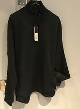 """Fred Perry : Tonal Taped Track Top / Jacket (L 44"""") Black (SALE )"""