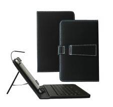 Teclado USB De Cuero PU para Tablet MyTablet Bush 8 in (approx. 20.32 cm) 32 Gb dispositivo