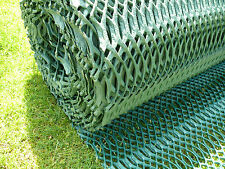 Grass Reinforcement Mesh 2.5x5M Driveway Car Park Ground Protection + 50 pins