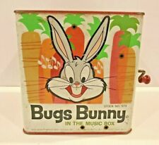 Bugs Bunny in the Music Box No. 573 Warner Bros. Mattel 1962 USA