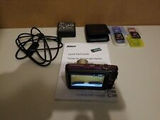 Nikon COOLPIX S4300 16.0MP Digital Camera - W/SD Cards & Charger