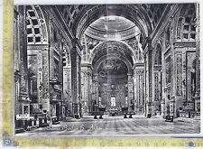 Cartolina doppia - Mantova - Interno Basilica S. Andrea - 1963 - NVG