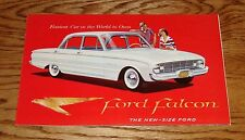 1960 Ford Falcon Foldout Folder Sales Brochure 60