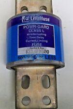 Littelfuse KLLU 2500 Amp 600 Volt Hi Interrupt Time Delay Current Limiting Fuse
