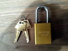 American Lock A1105 NEW WITH 2 KEYS - + ANTI BYPASS WAFER INSTALLED
