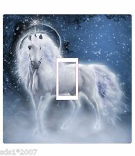 UNICORN LIGHT SWITCH COVER STICKER DECAL HD DIGITAL PRINTED colourful UNICORN