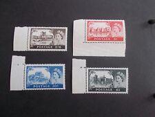 1955 1st De La Rue High Values (SG 536a-539a) 2/6 to £1 - Superb U/M Cat £600
