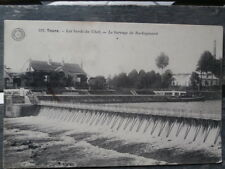 cpa indre-et-loire ..TOURS...les bords du cher ..le barrage de ROCHEPINARD 1905