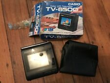 More details for casio color lcd television tv-6500