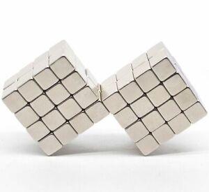 10 x NEODYMIUM Magnets CUBES ~ 8mm x 8mm x 8mm ~ QUALITY SQUARES Mega Strong NEW