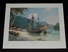 Geoff Hunt  - Pacific Haven - Nautical / Maritime Giclee Print