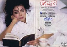 Coupure de presse Clipping 1988 La Toya Jackson   (4 pages)