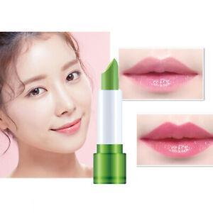 Aloe Vera Lipstick Lip Stick Moisturizing  Color Changing  Long Lasting  1PCS
