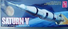 AMT 846/12 SATURN V * RAKETE  1:200 SCALE NASA  LUNAR LAUNCH VEHICLE - NEU