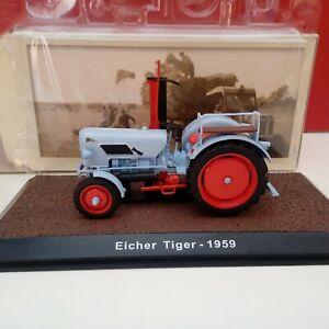 Modellino DIE CAST Atlas Trattore Eicher Tiger 1959 Scala 1/32 Nuovo