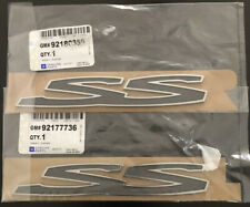 Holden Commodore Ve SS Door Badge Pair 92177736 92180359 220x37 Mm Genuine
