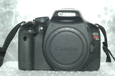Canon EOS Rebel T2i DSLR Camera Body+Battery-charger-SD card.