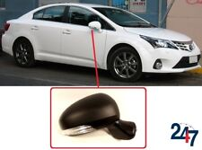 NEW WING MIRROR ELECTRIC HEATED PRIMED TURNS SIGNAL RIGHT FOR TOYOTA AVENSIS