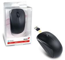 Genius NX-7000 WIreless Mouse w/ Blue Eye Sensor & Great Mobility - BLACK
