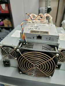 Used Bitmain Antminer S9 -13.5 TH/s BITCOIN ASIC MINER +Power Supply Unit..