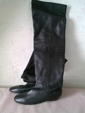 Dolce Vita Womens Knee High Boots. Black Leather Size 6 1/2
