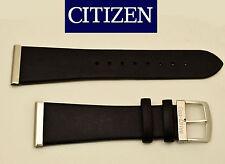 Citizen Eco Drive Original  Black Leather Watch Band 23mm BL6006-08E BL6005-01E