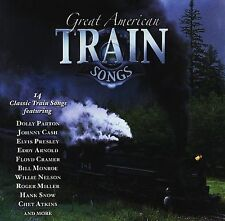 Great American Train Songs CD - Presley Parton Cash Nelson Reeves Atkins Arnold