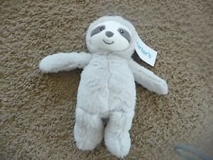 NWT NEW Carters Sloth Plush Soft Stuffed Baby Lovey Toy 67912 NEW