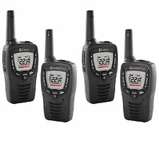 (4) COBRA CX312 23 Mile 22 Channel FRS/GMRS Walkie Talkie 2-Way Radios w/ VOX