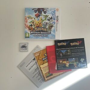 Nintendo 3DS Pokemon Mystery Dungeon Gates to Infinity (Complete) EUR