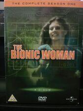 The Bionic Woman The Complete Season 1 (DVD REGIONS 2,4,5) WORLD SHIP