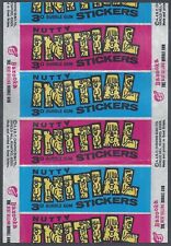More details for a&bc wrapper-nutty initial stickers 1968