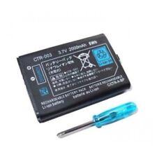 Bateria Li-ion 3.7v 2000mAh CTR-003 Nintendo 3DS 2DS 2D NDS 3D destornillado