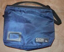 Puritan Bennett Tyco Healthcare Navy Carry Bag