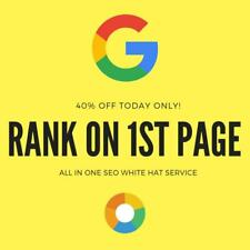 Best seo services to rank on 1st google page