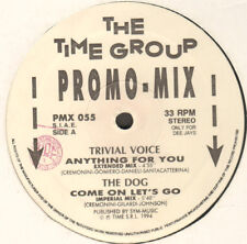VARIOUS (TRIVIAL VOICE / GENERAL BASE / FISHBONE BEAT - Time – PMX 055 - Italy