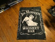 DOORS Jim Morrison jack Daniels sign mancave bar flag banner man cave flags idea