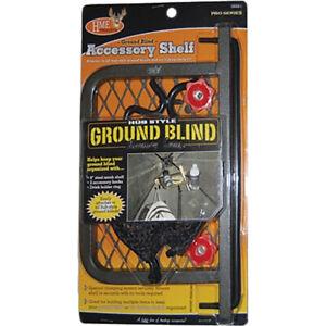 Hme Hme-Gbas-1 Ground Blind 8 Inch Shelf Dhr And 2Hk