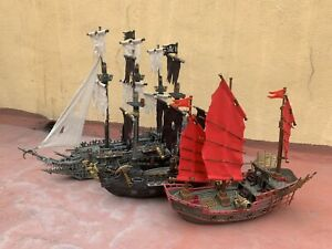 Mega Block pirates of the caribbean All Ships And Figures