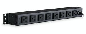 CyberPower PDU15B2F8R Basic Series Rackmount PDU 10 Outlet Black NEW STP