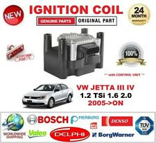FOR VW JETTA III IV 1.2 TSi 1.6 2.0 2005-ON IGNITION COIL 4PIN with CONTROL UNIT