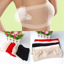 One Piece Seamless Bra All-match Fashion Women's Strapless Crop Top Vest au