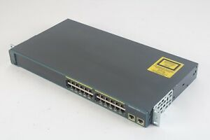 Cisco Catalyst 2960 Series 24-Port Switch WS-C2960-24TT-L