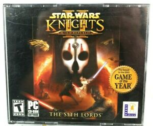 Star Wars Knights Of The Old Republic II PC Game The Sith Lords Few Scratches