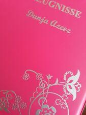 Zeugnismappe pink *wattiert*Zeugnisse Motiv + Name