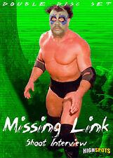 The Missing Link Shoot Interview DVD, WWF NWA AWA WWE